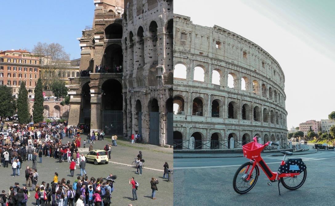 Rom vor / während Corona
